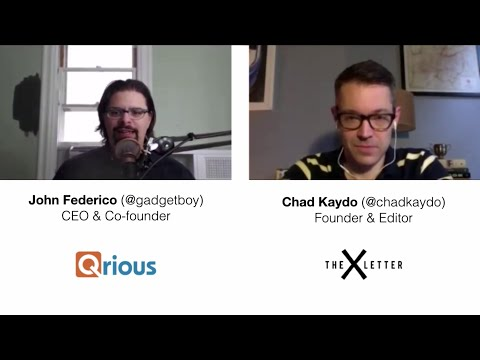 The #EventTech Podcast: Chad Kaydo (@chadkaydo), Founder & Editor, The X Letter