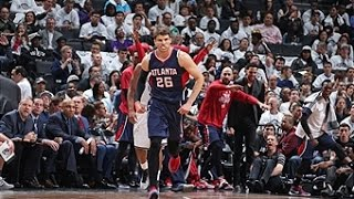 Kyle Korver Torches Nets from Behind the Arc