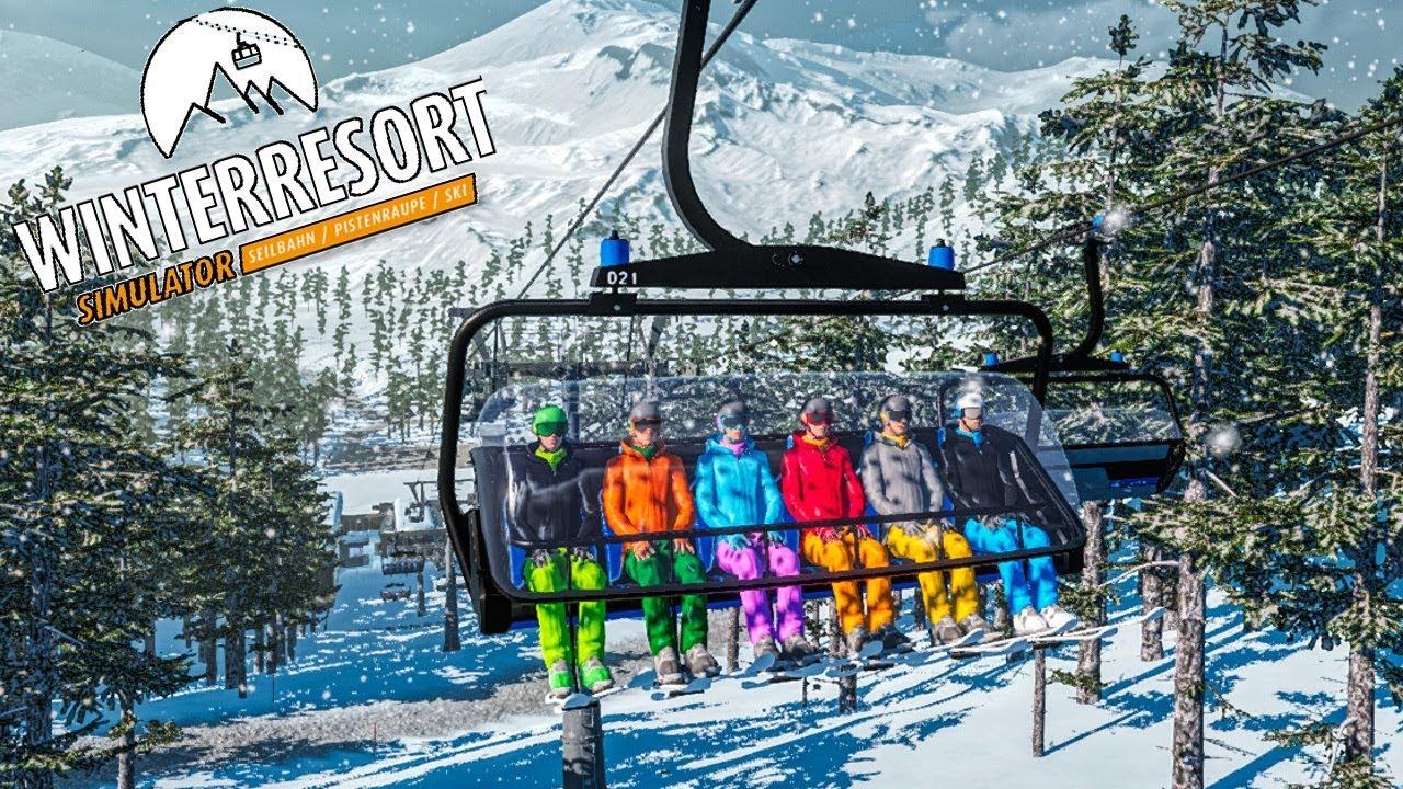 winter resort simulator 4 neuer skitag und. Black Bedroom Furniture Sets. Home Design Ideas