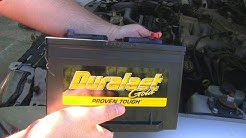 How to Change a Car Battery on a Ford Mustang