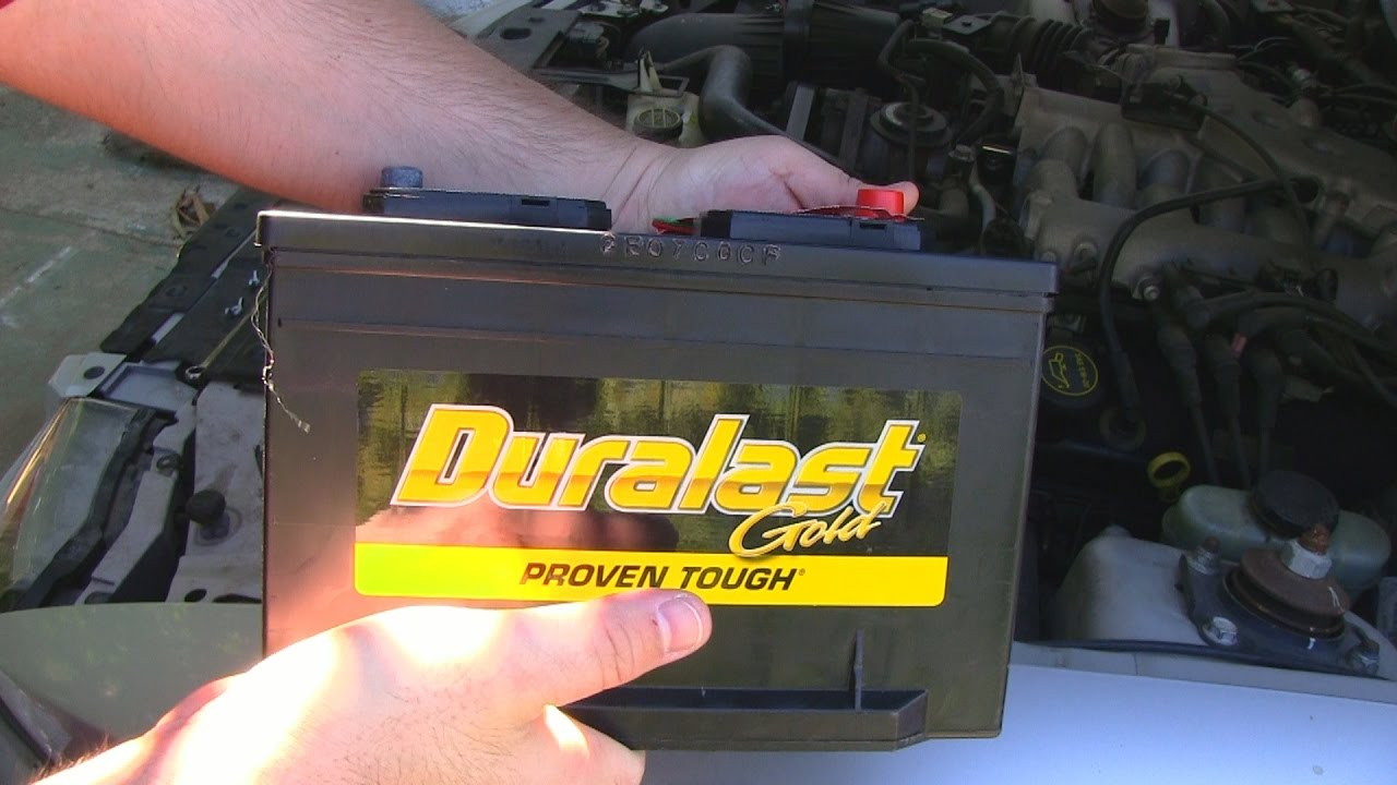How To Change A Car Battery On Ford Mustang