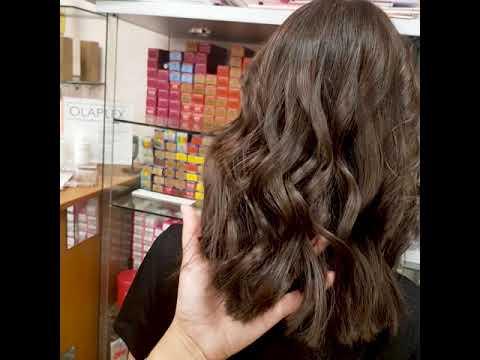 Окрашивание волос MATERIA Lebel