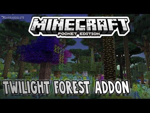 Minecraft PE: Add-On Showcase - Twilight Forest Mod (Pocket Edition)