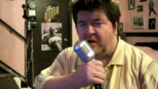 """""""Long legged girl with the short dress on"""" - elvis cover karaoke"""