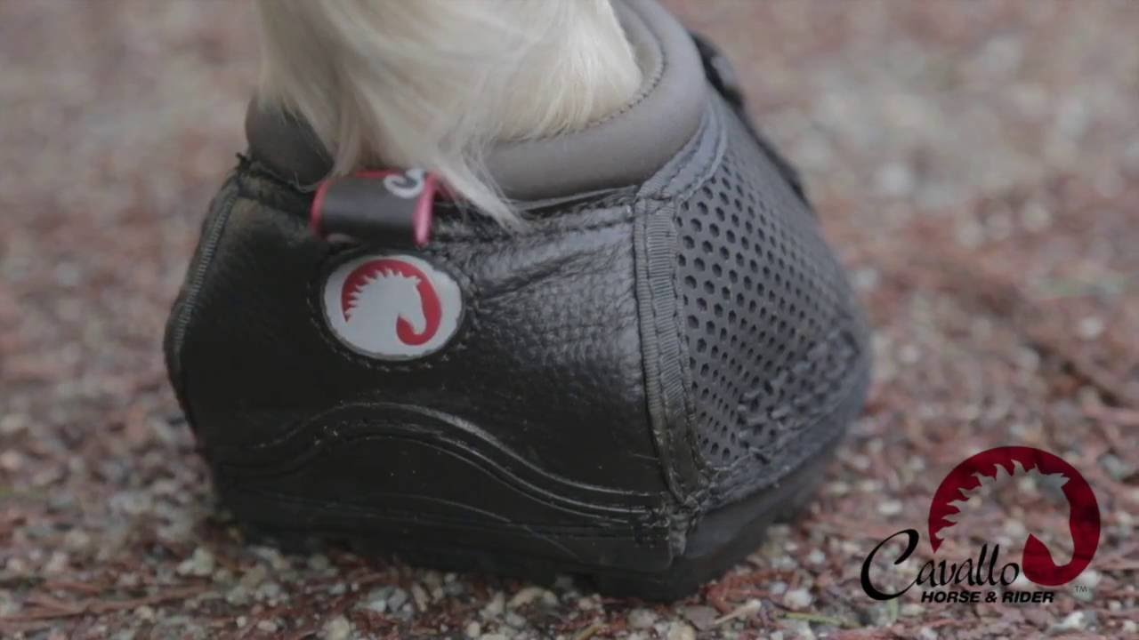 How To: Fit Cavallo Horse Boots - YouTube