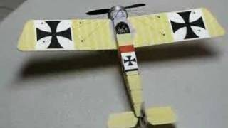 Re: 1/22 scale Fokker E-III for Kyosho R/C - Completed