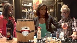 Creating The Perfect Pecan Pie Cocktail For The Holidays With Julie Campbell Of Acme Social Club