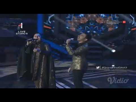 Duet Cantik Reza Indonesia dan Nasar - Final D'Academy Asia 3