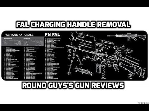 Fal Charging Handle Removal Youtube