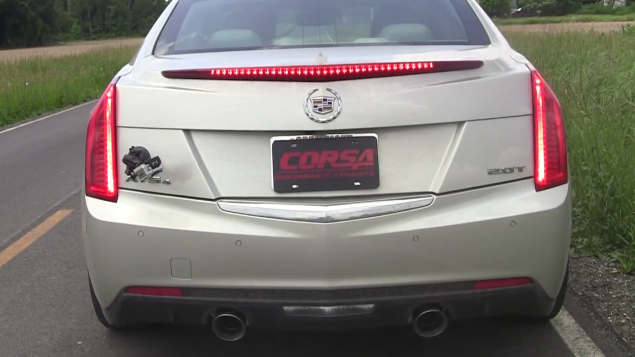 parts performance intake and gibson volant exhaust watch ats cts with cadillac youtube