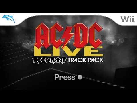 Dolphin Emulator 5.0-7157 - AC/DC Live: Rock Band Track Pack (Menus) [1080p HD] - Nintendo Wii - 동영상