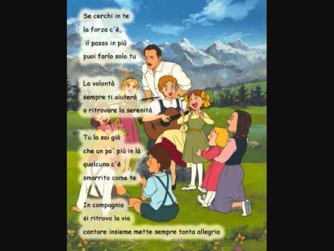 Cantiamo Insieme - Sigla Completa + testo lyrics.wmv