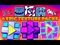 6 EPIC ϟ TEXTURE PACKS Para GEOMETRY DASH 2 11 ANDROID STEAM PC 19 mp3