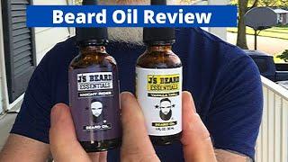 J's Beard Essentials review. NEW