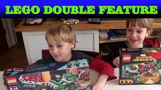 Lego Build Challenge and Review - LEGO Movie 70805 Trash Chomper / Super Heroes Ravager Attack 76079
