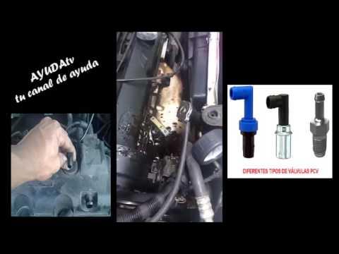 Porque mi motor bota aceite por el respiradero del motor