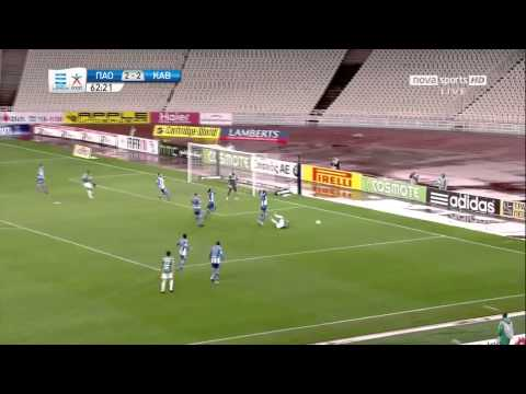 Panathinaikos - Kavala 4-2 Goals & Highlights 16/1/2011