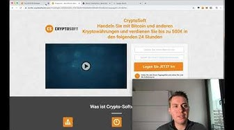 Ist Cryptosoft Betrug? (Erfahrungen und Test) ❌