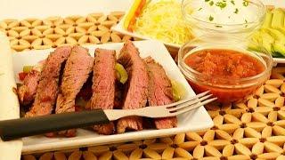 How To Make Beef Fajitas - Easy Homemade Fajitas  | Radacutlery.com