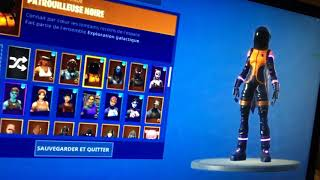 VENDS COMPTE FORTNITE GHOUL TROOPER,LUTIN,SKULL TROOPER VIOLET,+ DE 100 SKINS