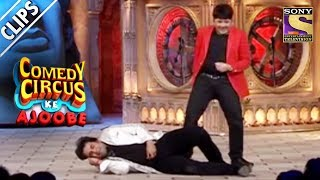Krushna Flirts With Sudesh's Wife   Comedy Circus Ke Ajoobe