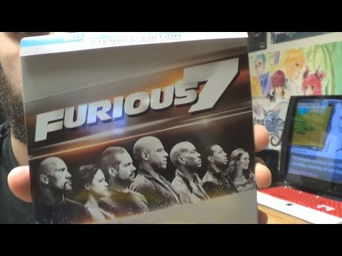Fast and Furious 7 - Steelbook/Extended Edition Unboxing {Full 1080p HD}