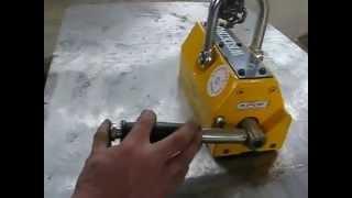 видео Магнитные захваты серии PML-600