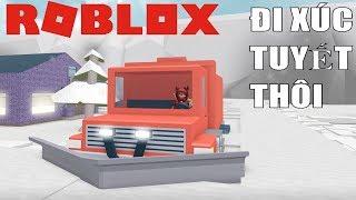 Roblox | Use Super Car To Go Snow | Snow Shoveling Simulator | MinhMaMa