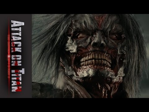 Attack on Titan The Movie Part 2 - Official Clip - Whoa, Hes Strong