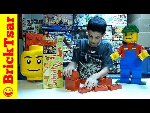 MYSTERY LEGO 4000 Episode 1 Jumbo Samsonite Beginneres Set #105 - Test Film