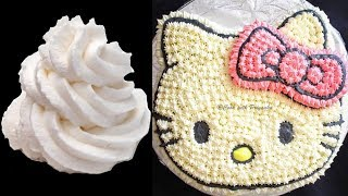 How To Whip Cream, How To Make Whipped Cream Frosting For Cakes Or Cupcakes