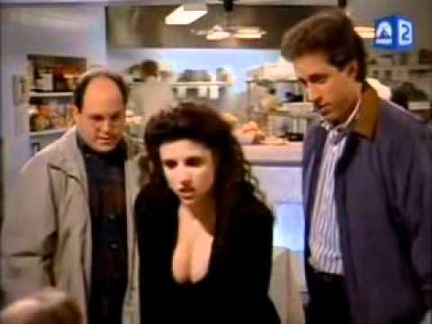 Cleavage Seinfeld YouTube