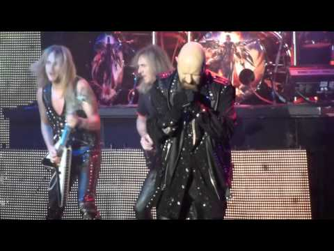 Judas Priest - Breaking The Law / Another Thing Comin' (Outro) [Live / Tallinn / 07.12.2015]
