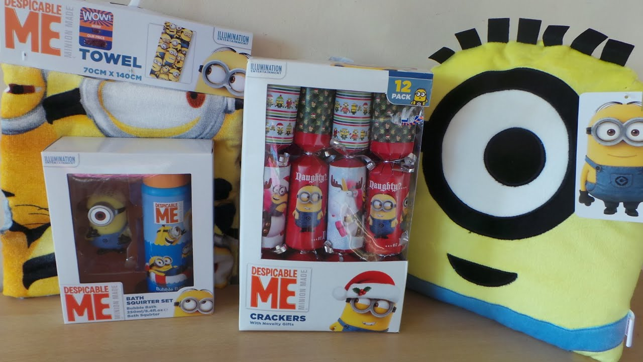minion bathroom set. MY TOP 4 DESPICABLE ME MINION CHRISTMAS PRESENTS WITH THE BATH SQUIRTER  YouTube