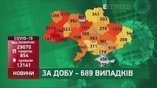 Коронавірус в Украі ні статистика за 11 червня