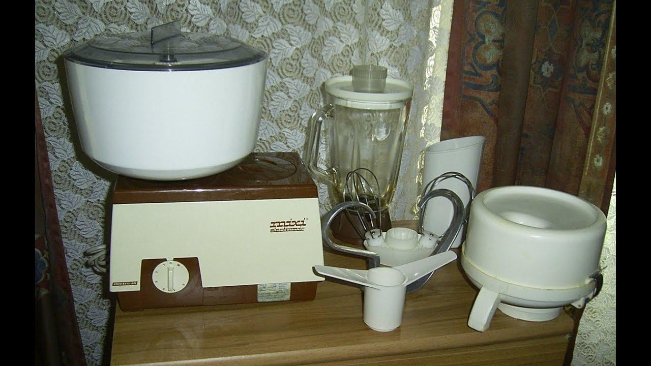 TEST -Funktionsprüfung Küchenmaschine Mixi Elektronik ,Functional ...