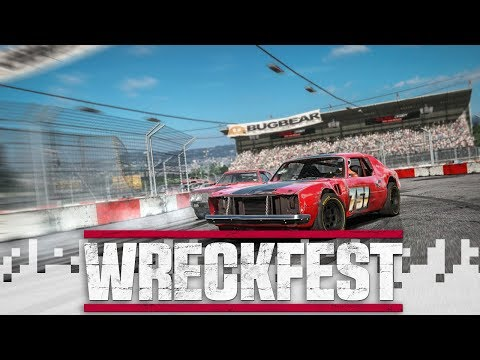 WRECKFEST  Downhill Bus Carnage! feat Kurt and Cone!