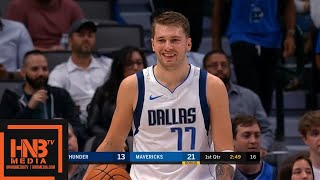 Oklahoma City Thunder vs Dallas Mavericks - 1st Qtr Highlights | October 14, 2019 NBA Preseason