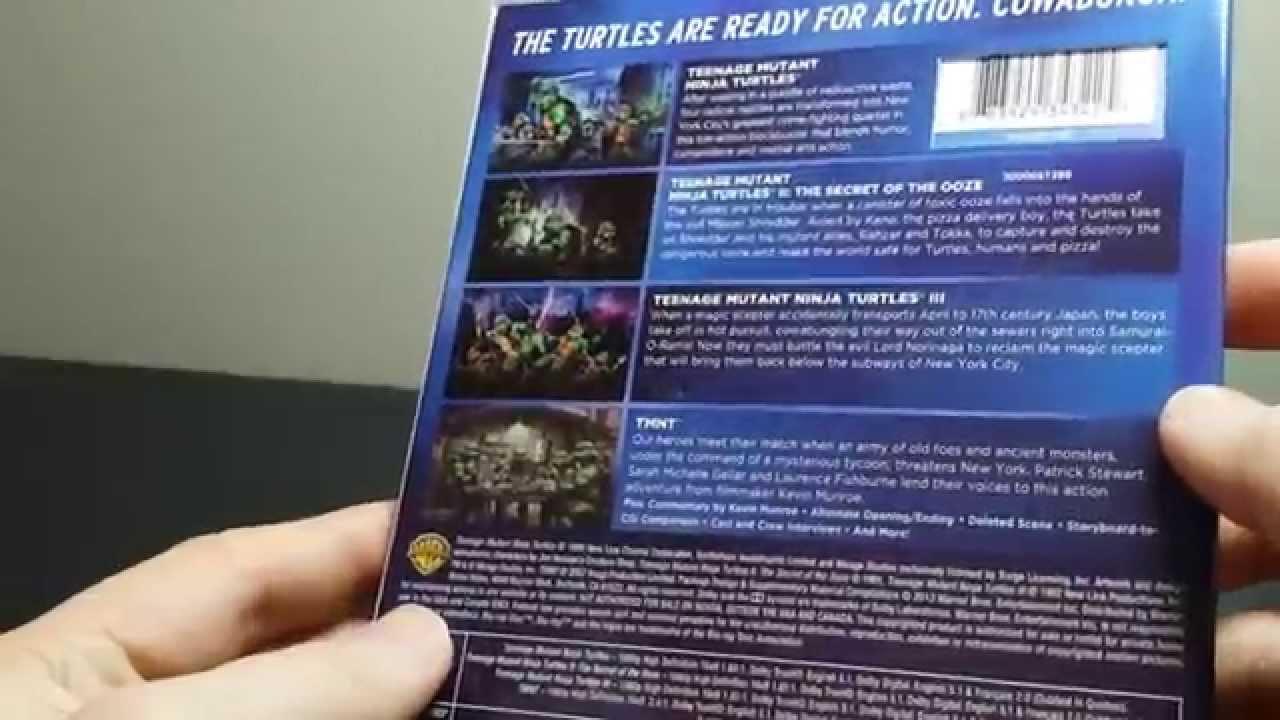 4 Film Favorites Teenage Mutant Ninja Turtles Blu Ray