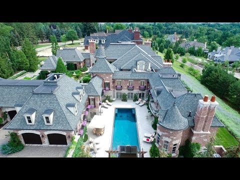 Luxury 14 500 Sq Ft 10 Million 6 Bed 9 Bath 8 Car Garage