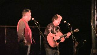 Mick Ryan And Paul Downes@Bromyard Folk Festival 2010