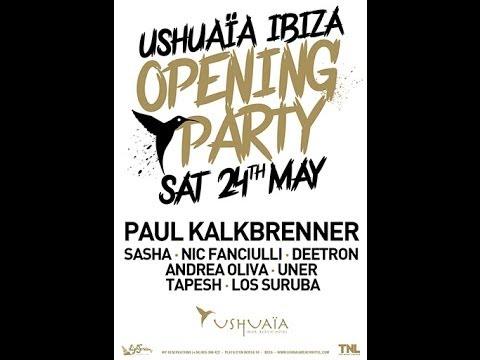 Paul Kalkbrenner Live Ushuaia Opening Ibiza 2014