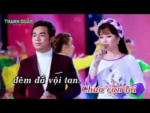 KARAOKE - Giọt Lệ Sầu | Phan Thanh ft. Nguyễn Huy