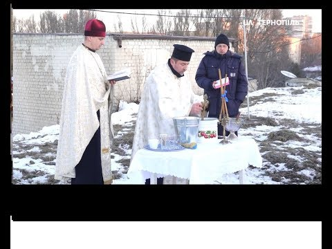 UA: Тернопіль: Освячення води на водопровідних насосних станція «Тернопільводоканалу»