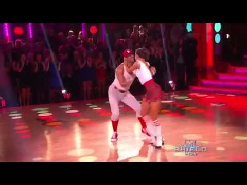 Dancing With the Stars Season 17  Week 2 Corbin Bleu & Karina Smirnoff   Jive