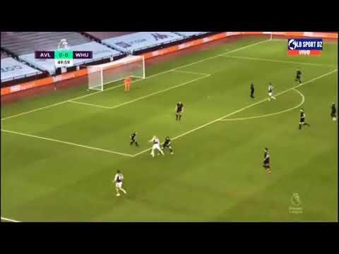 Aston Villa Vs West Ham  1 3 Highlights 2021