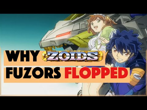 Why Zoids Fuzors Flopped (And The Damage It Dealt To The Series)