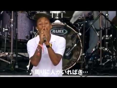 【日本語字幕付き】【LIVE】N.E.R.D (Pharrell Williams) / Sooner Or Later
