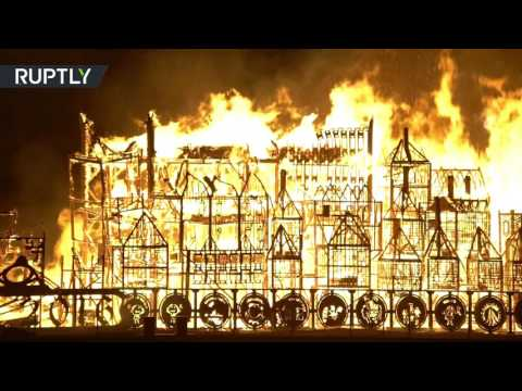 London's Burning! Great Fire of 1666 commemorated on 350th anniversary