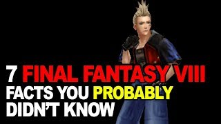 7 Final Fantasy VIII Facts You Probably Didn